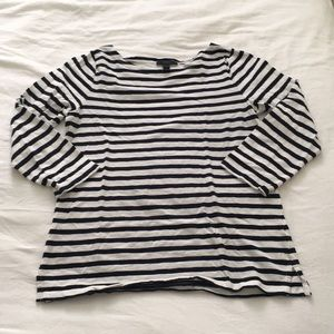 J Crew Breton stripe shirt